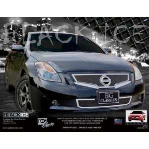 NISSAN ALTIMA COUPE 2008 2009 FINE MESH BLACK ICE GRILLE