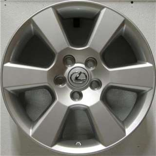 One genuine factory 17 Lexus RX wheel. This is a dealer TakeOff