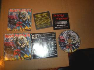 IRON MAIDEN THE NUMBER OF THE BEAST MINI LP COVER CD NEAR MINT