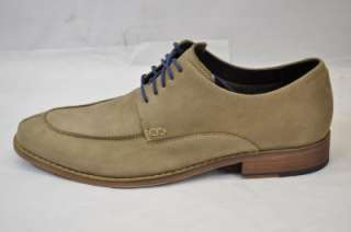COLE HAAN AIR COLTON CASUAL SPLIT TOE (CFH) MOSS NUBUCK LEATHER OXFORD