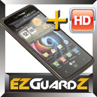 HD LG Spectrum VS920 Clear LCD Screen Protector Skin Guard Shield Skin