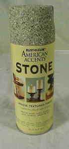 RUST OLEUM STONE TEXTURE SPRAY PAINT PEBBLE GRAY