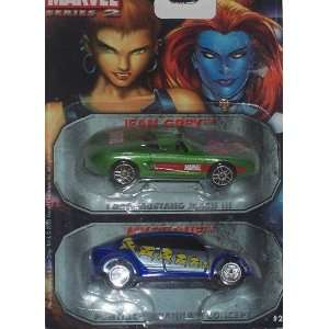 Ford Mustang and Mystique Pontiac Piranha Concept 164 Scale Diecast