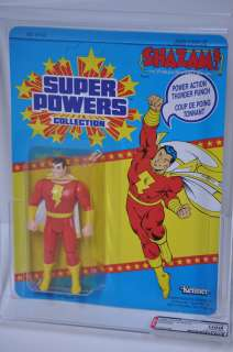 Shazam Kenner DC Super Powers figure Canadian AFA U90