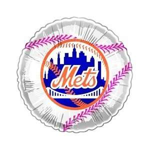 New York Mets Baseball Balloons 10 Pack