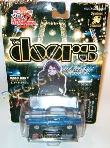 1968 68 SHELBY MUSTANG THE DOORS JIM MORRISON STEEL RC DIECAST ULTRA