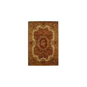 Classic   CL223B Area Rug   96 x 136   Rust, Gold