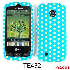 TOUCH ATTUNE BEACON WHITE YELLOW DOT LIGHT BLUE CASE COVER SKIN
