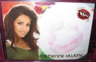 2006 WORLD CUP BENCHWARMER KISS CARD CATHERINE KLUTHE #3