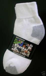 12 PAIR MENS WHITE COTTON SPORT ANKLET SOCKS SIZE 10 13