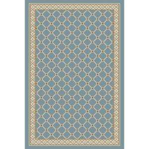 Light Blue 5 Ft. X 7 Ft. 7 In. Area Rug 8264BL69