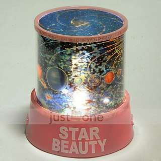 Universe Evolution Star Sky Galaxy Projector Light LED Color Flashing