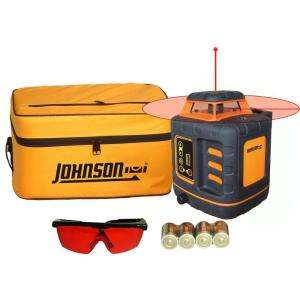 Johnson Self Leveling Rotary Laser Level 40 6527