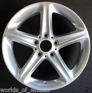 08 09 10 11 BMW 1 Series 18 Front 5 Spoke Factory OEM Wheel Rim H