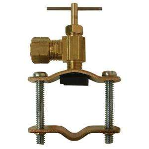 in. Brass Compression Self Tapping Saddle Valve A 141 at The Home