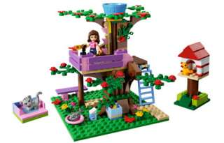 New Lego Friends Olivias Tree House 3065