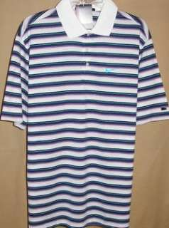 NIKE TIGER WOODS 2011 US Open striped s/s Polo XXL(110)