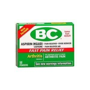 BC Arthritis Formula Powder, 50 Count [Health and Beauty