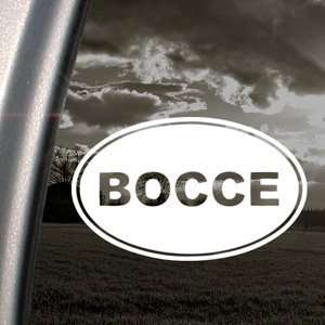 Bocce Decal Car Truck Bumper Window Vinyl Sticker