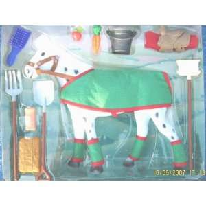 Blue Ribbon Ranch Horse with Accessories Set Toys & Games