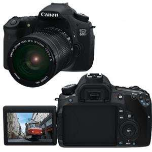 Canon Cameras, EOS 60D 18mp 3.0 LCD 18 135IS (Catalog