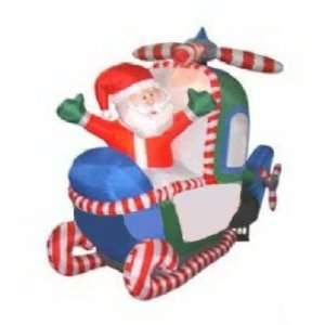 5 Ft.   Christmas Airblown Inflatable   Animated   Santa