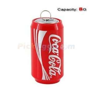 8GB Lovely Coca Cola Bottle Shape Flash Drive (Red