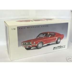 1968 Ford Mustang GT diecast model car 118 scale die cast