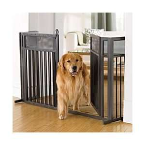 Freestanding Expanding Metal Pet Gate   Improvements