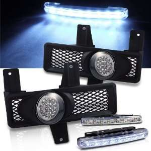 Eautolight 97 98 Ford F150 / Expedition LED Fog Lights + LED Bumper