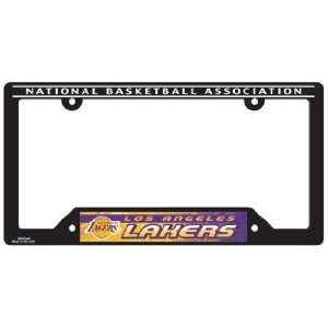2 Los Angeles Lakers Car Tag Frames