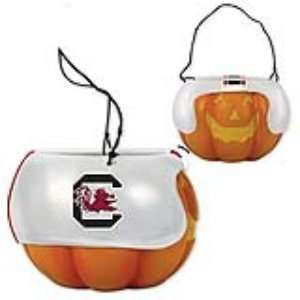 South Carolina Gamecocks NCAA Halloween Pumpkin Candy Bucket (5.5)