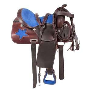 Pleasure Leather Horse Saddle 16