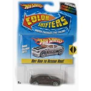 Hot Wheels Color Shifters Car   Dodge Charger SRT8 (Hot Rod to Rescue