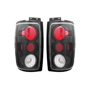 Expedition Black Tail Lights + LED 3RD Brake Light Combo Automotive