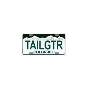 Colorado State Background License Plates Plate Plates Tag