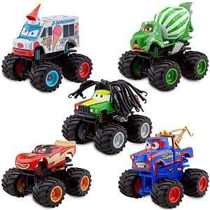 Disney / Pixar Cars Exclusive Monster Truck Mater Plastic Figurine Set