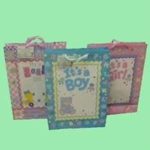 Extra Large Baby Shower Gift Bag Case Pack 72   346658