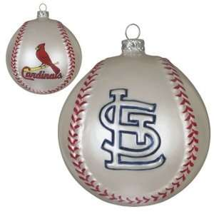 . Louis Cardinals MLB Glass Baseball Ornament (3)