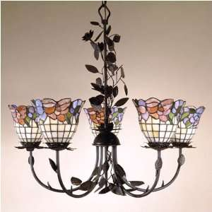 Dale Tiffany Burbridge Five Light Chandelier