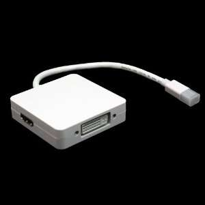 Apple Mac to Tv / DVI / HDMI / VGA Adapter Cable Electronics