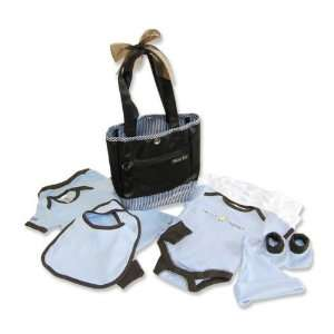 Chick Magnet Mini Tulip Tote 10 Pc Baby Gift Set