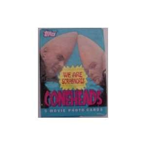 Coneheads Movie Trading Card Packs Toys & Games