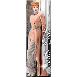 I Love Lucy Lucille Ball Peach Dress Magnet 60067LLU