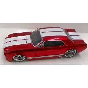 Jada Toys 1/24 Scale Diecast Big Time Muscle 1965 Ford Mustang Gt in