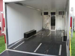 2011 8.5 X 20 CAR MATE ENCLOSED CARGO CAR HAULER TRAILER, 7K GVWR, 4