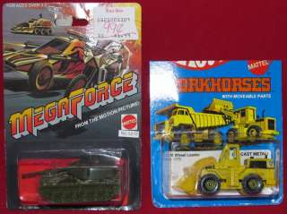 Hot Wheels Megaforce Battle Tank Cat Wheel Loader 1173