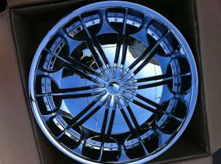 26 CHROME RIMS TIRES 6X135/139 CHEVY GMC FORD NISSAN