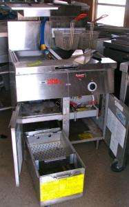 Frymaster Filter Magic II (2) Deep Fat Fryer FM35SD Gas, Restaurant