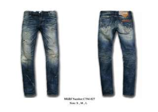 Japanese CTM 028 Fashion Blue Mens DENIM Jeans Pants